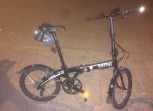 للبيع قاري ماركة  ميني كوبر   (يتسفط)Mini Cooper Fold Up Bike for Sale.