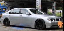 Grey BMW 740 2006 for sale