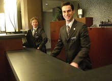 مطلوب موظف استقبال من الجنسين Receptionist