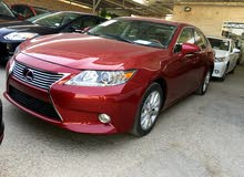 Maroon Lexus ES 2015 for sale