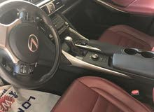 Used condition Lexus IS 2017 with 20,000 - 29,999 km mileage