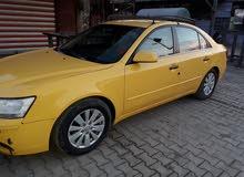 سوناتا تكسي ديالى 2009 مكان السياره بغداد 07704099521