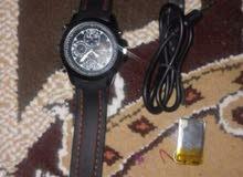 ساعة كلشي بيها تصوير وتسجل فيديو وصوت 100 الف