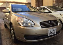 Automatic Gold Hyundai 2008 for sale