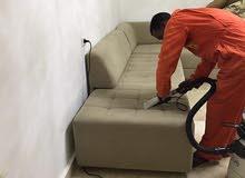 نظافة سجاد صالونات في نفس المكان وغسيل صالونات السيارات وايجو لعندك