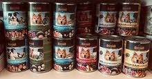 بيع اكل حيوانات كلاب وقطط