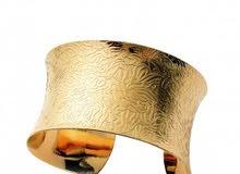 سوار إيطالي مطلي بالذهب عيار 18