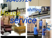 House shifting services from any place carpenter and delivery available