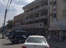معارض مفتوحه ثلاث طوابق للايجار في سوق السيب مقابل عيادة الفتح