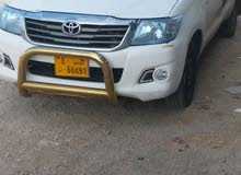 Manual White Toyota 2012 for sale