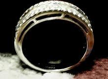 خاتم الماس اصلي من مجوهرات داماس قيراط ال ربع