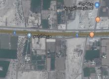 للإستثمار أرض سكني تجاري على أول خط من شارع السلطان قابوس