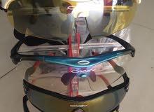 نظارات أوكلي الامريكية المشهورة لدراجات OKLEY SOFTWARE