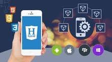 مطلوب شخص لتعليم Hybrid app