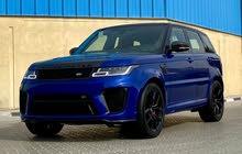 Range Rover Sport SVR top options   2020 model / brand new / under warranty