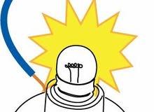 كهربائي تمديدات لكافة الاعمال الكهربائية