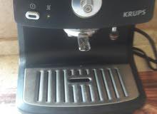 ماكنة لعمل القهوة والنسكافيه والكبتشينو
