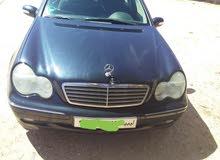 مرسيدس c200 ممتازة 2003