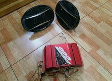 Pioneer  6 by 9 600 Watts speakers + SONY Xplode 222W Amplifier for Car