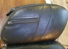 Harley Davidson v rod original saddlebag and windshield