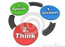 دورة تأسيس ومبادئ في اللغة الأنجليزية تشمل مهارات التكلم والقراءة