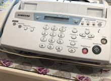 للبيع تليفون فاكس ارضي جديد