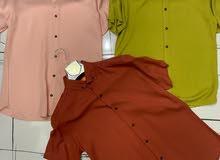 قمصان تركية خامة (هزاز) للبيع