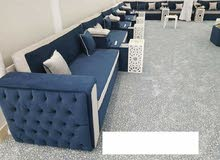 New sofa making reapir.wallpaper fixing and curtains making