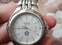 ساعة فوسيل FOSSIL بحالة الجديد للبيع بسعر60دينار