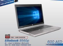 HP ELITEBOOK 8560p - Core i5 - Graphics card – [FIXED PRICE]