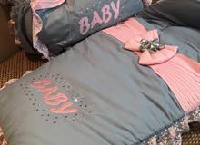 baby girls sleeping bag and hand bag with accessories