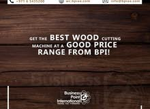 Take your wood cutting industry to steller heights, contact Business Point International!