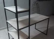 bureau fer et bois