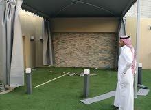 حداد مظلات وسواتر الرياض 0539128814 .