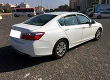 White Honda Accord 2014 for sale