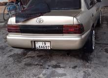تويوتا كورولا 93 محدثه 97 للبيع أو البدل على سياره أقل سعر