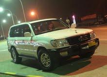 For sale 1999 White Land Cruiser