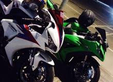 Buy a Used Kawasaki motorbike made in 2012