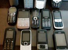 اجهزة موبايلات كلاسيك  قديمة  للبيع شغالة   سعر خاص لبيع كامل الكميةح