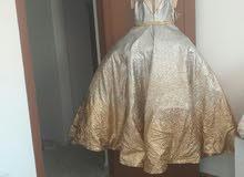 فستان مستعمل 2ساعة اجديد للبيع