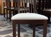 كرسي خشب زان بالباكيت