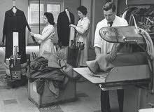 مطلوب كوى ملابس بخبره ممتازه للعمل في محل دراي كلين الصويفيه