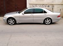 100,000 - 109,999 km Mercedes Benz S 500 2000 for sale