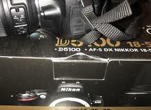 nikon 5100 and lens 18 55