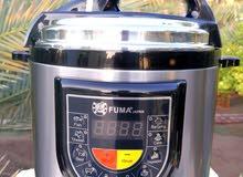 القدر الكهربائي الياباني 6 لتر ضمان سنة يوجد توصيل