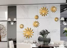 7 زهور من ملصقات الجدار