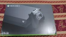 xbox one x جديد بالكرتونه