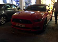 Renting Ford cars, Mustang 2017 for rent in Amman city