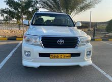 Toyota Land Cruiser 2012 For sale - White color