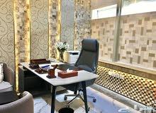 مكتب للايجار في العليا طريق الملك فهد